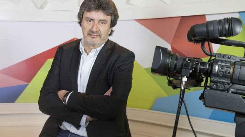 El periodista Javier García Mateo.