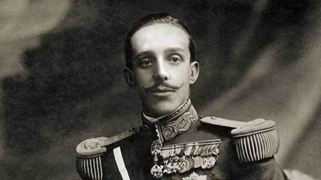 El rey Alfonso XIII.