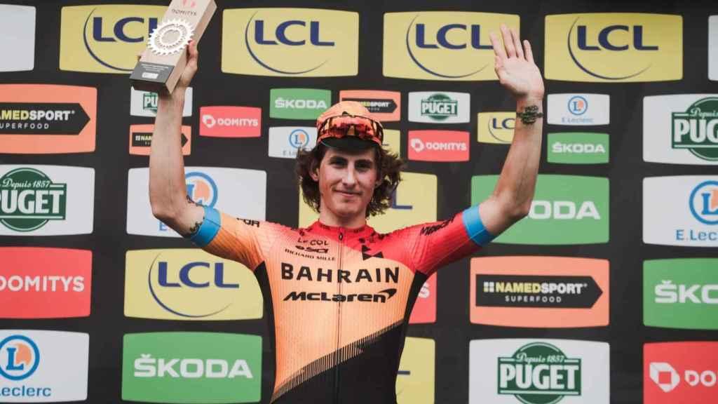 Ivan García-Cortina consigue su primera victoria en la París - Niza