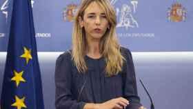 La portavoz del PP en el Congreso, Cayetana Álvarez de Toledo, este martes en Madrid.