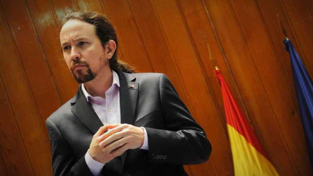 Pablo Iglesias, vicepresidente segundo y ministro de Derechos Sociales, el día de su toma de posesión.