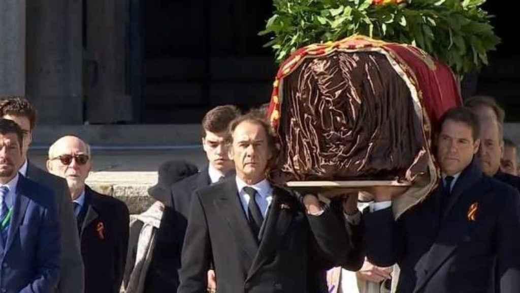 La exhumación de Francisco Franco.