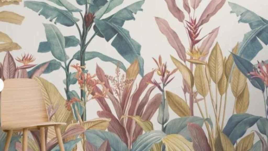 Uno de los cuatro nuevos papeles pintados de MuralsWallpaper.