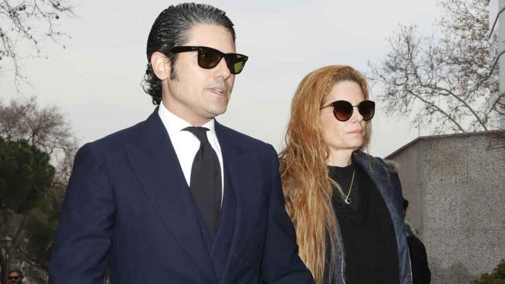 Julián Porras-Figueroa y Olivia de Borbón.