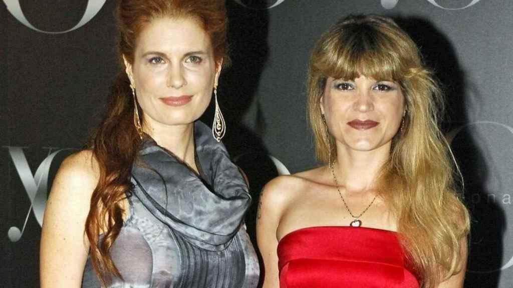 Olivia de Borbón junto a su hermana Cristina en una imagen de archivo.