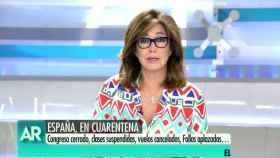 Ana Rosa en su programa de Telecinco