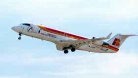 Uno de los aviones de Air Nostrum.