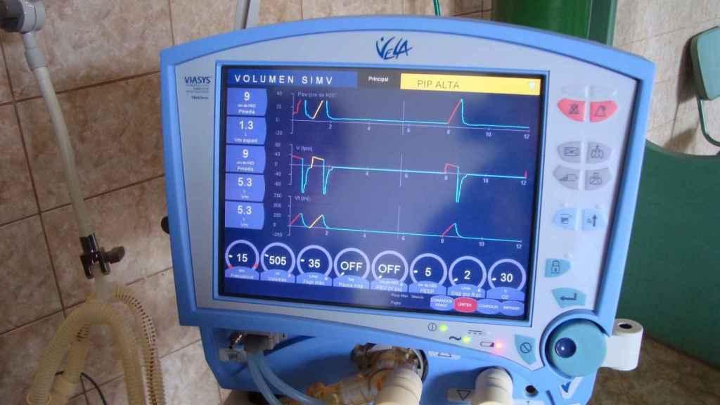 Monitor de respirador artificial