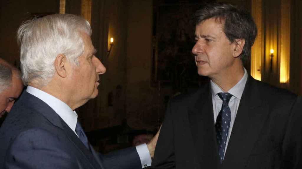 Carlos Martínez de Irujo y su hermano Cayetano.