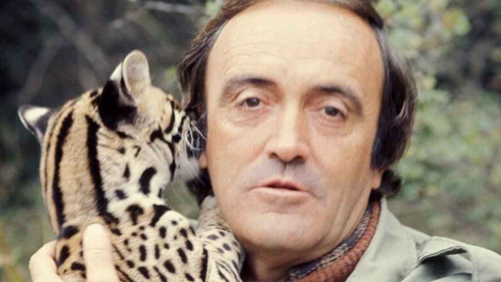Una imagen de archivo de Félix Rodríguez de la Fuente.