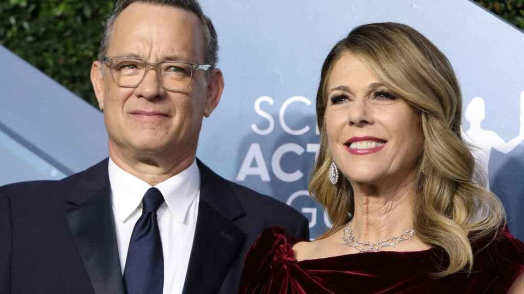 Tom Hanks y su esposa Rita Wilson, en una imagen de archivo.