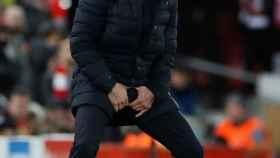 Simeone en Anfield