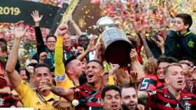 Flamengo celebra la Copa Libertadores 2019