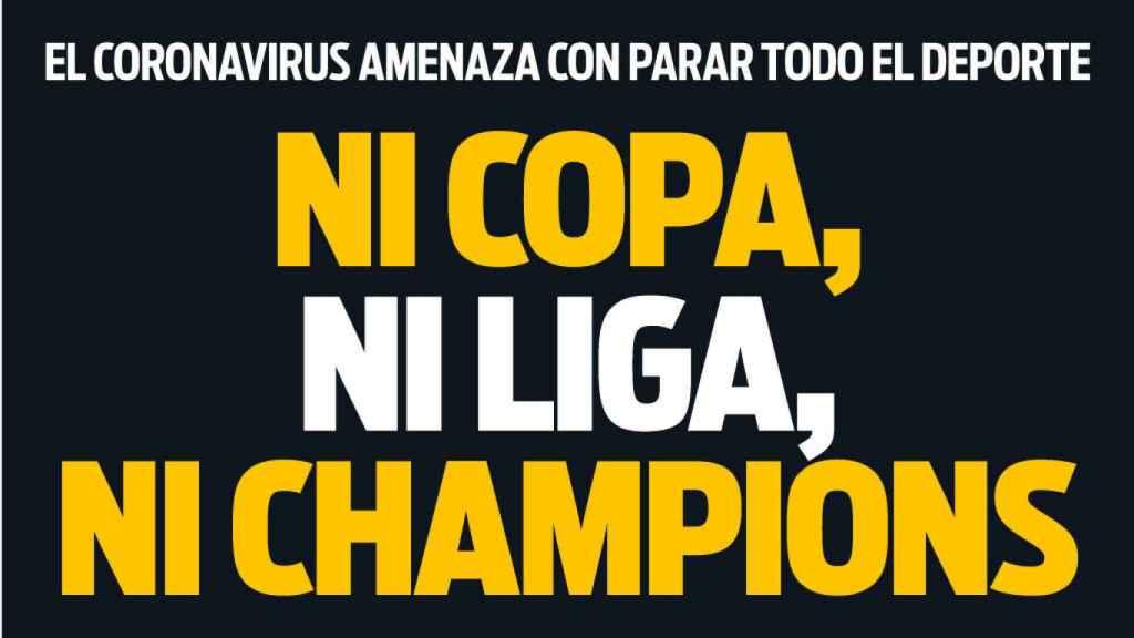 Portada Sport (12/03/20)