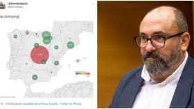 Nomdedéu, el nacionalista de Compromís que se mofa de Madrid y del coronavirus: Stop dumping