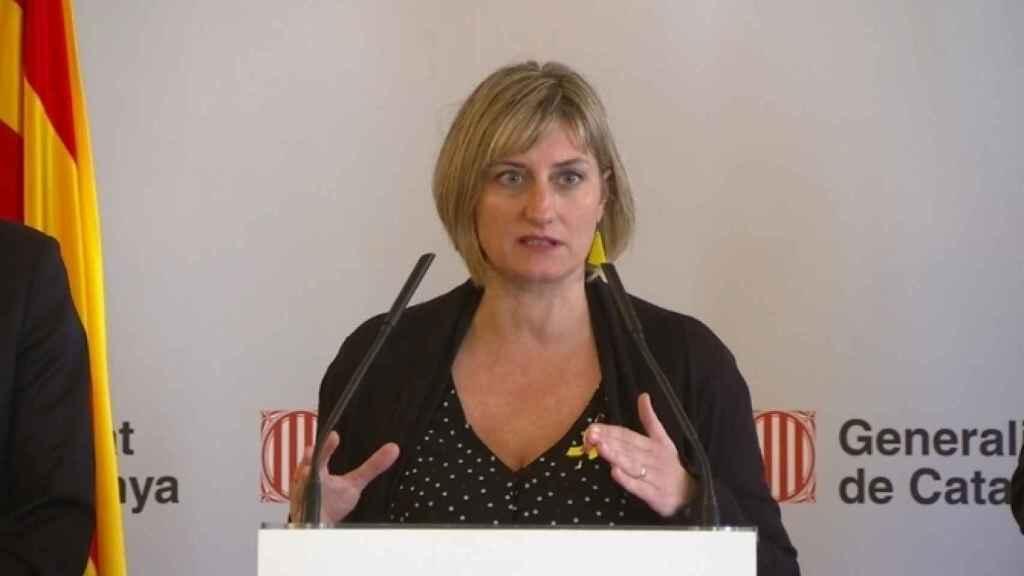 La consejera de Salud catalana, Alba Vergés.