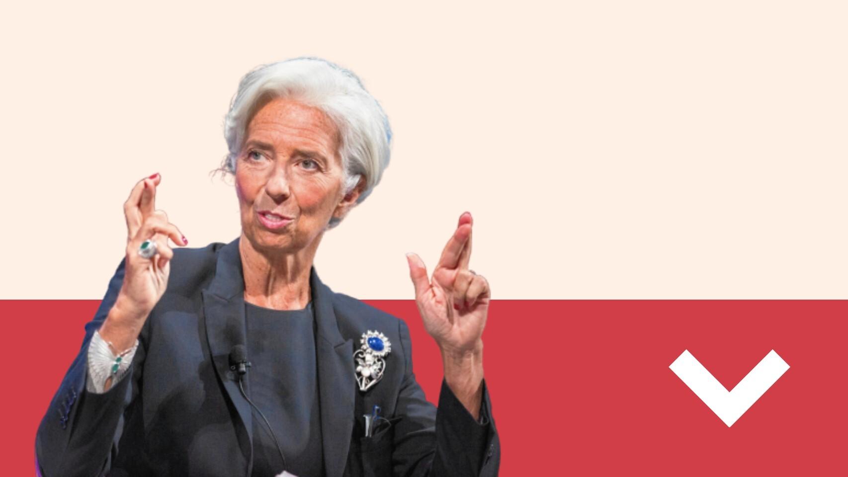 A LOS LEONES: Lagarde hunde los mercados con su inacción