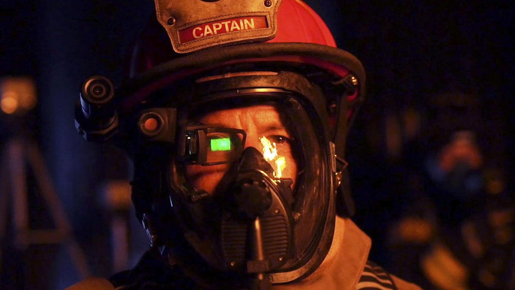 Casco de bomberos con realidad aumentada.