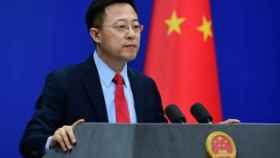 El portavoz del Ministerio de Relaciones Exteriores de China.