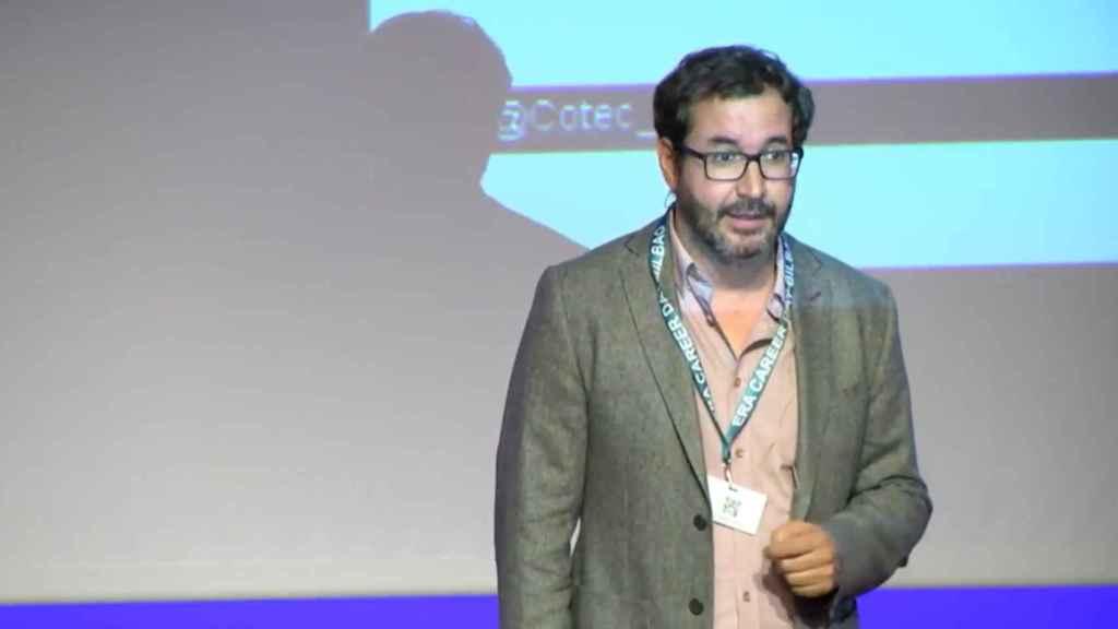 Jorge Barrero, director Fundación Cotec