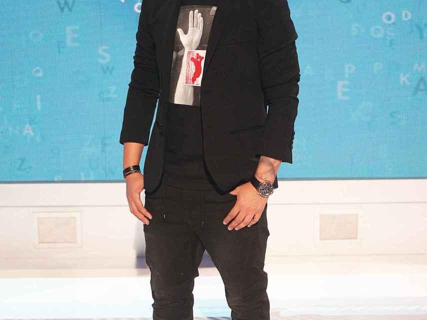 Christian Gálvez en una imagen promocional de 'Pasapalabra'.