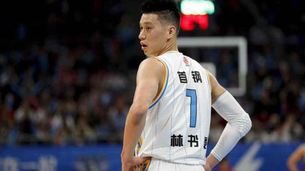 Jeremy Lin, en la liga china
