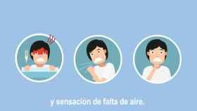 Imagen del nuevo vídeo de Sanidad sobre el coronavirus.