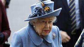 La reina Isabel II en el Día de la Commonwealth.