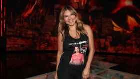Ivonne Reyes en el plató de 'Supervivientes'.