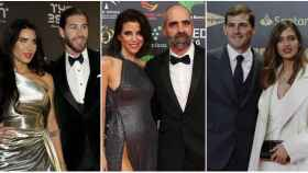 Pilar Rubio y Sergio Ramos, Luisa Mayol y Luis Tosar, y Sara Carbonero e Iker Casillas.