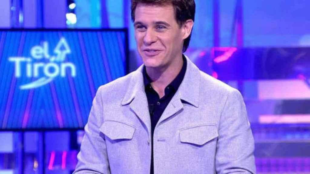 Christian Gálvez durante la emisión de su programa 'El Tirón'.