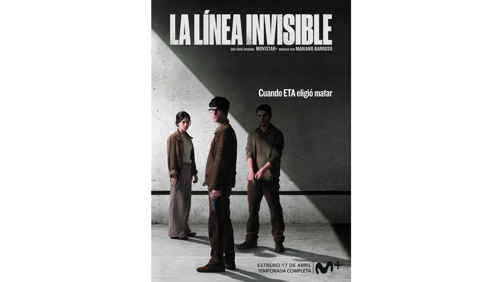 El Español te ofrece en exclusiva los carteles de los personajes de 'La línea invisible'