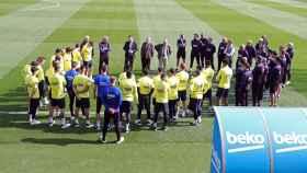 Reunión entre Bartomeu y la plantilla del Barça por la crisis del coronavirus