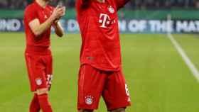 Thiago, contra el Bayern Múnich