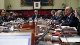 Foto de archivo de una reunión del CGPJ./