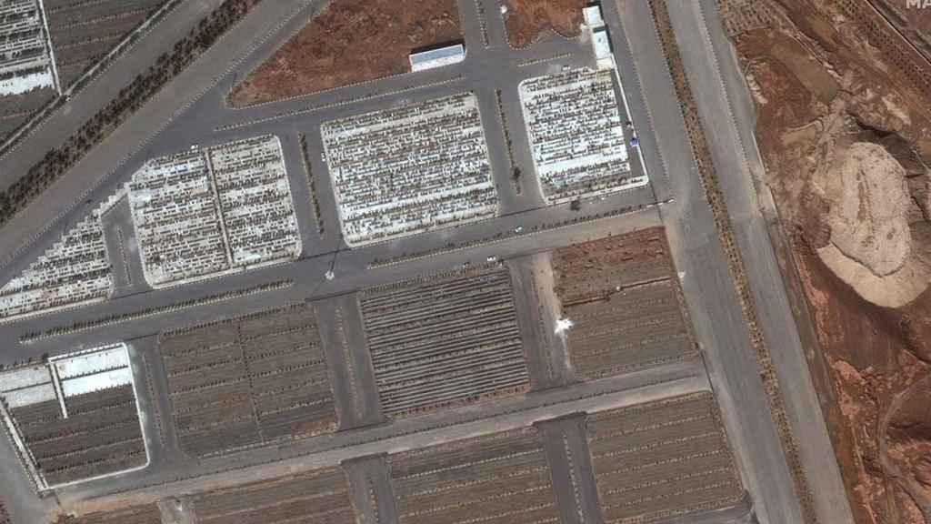 Imagen aérea del nuevo cementerio