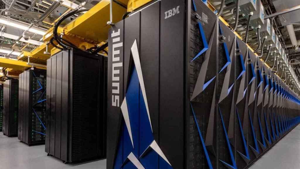 Superordenador de IBM.