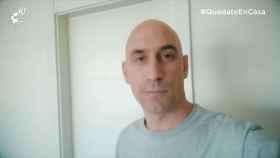 Luis Rubiales también promueve el movimiento #QuédateEnCasa contra el coronavirus