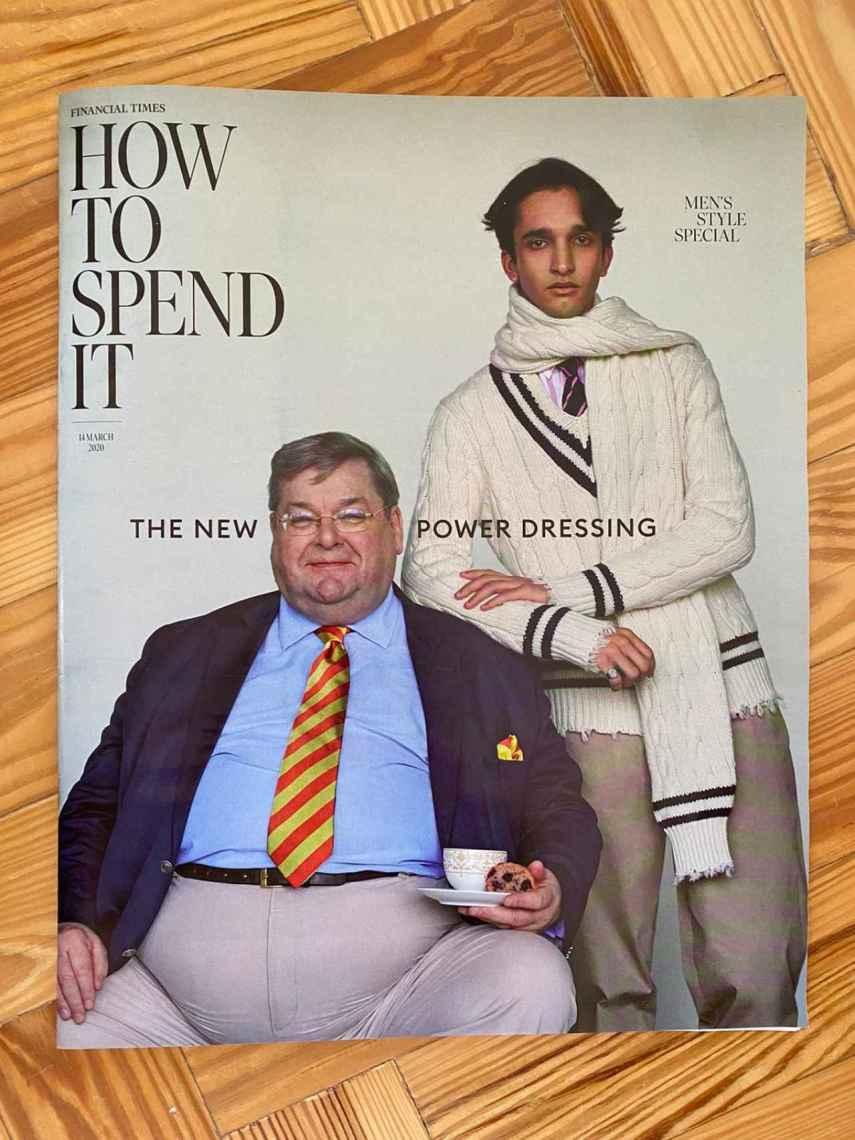 La heroica compra de hoy, el especial moda hombre del 'Financial Times'.