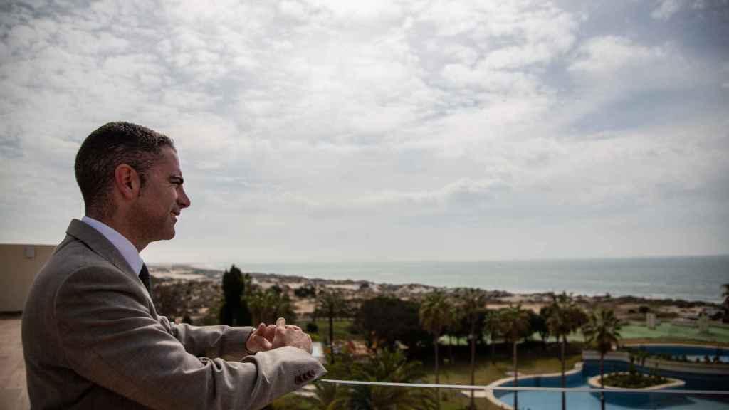José María Bajo, director del Gran Hotel del Coto.
