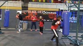 La selección española de boxeo entrena antes del preolímpico