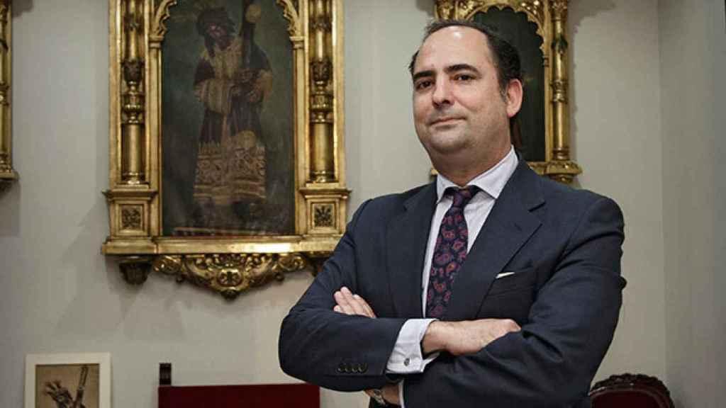 Félix Ríos, hermano mayor del Gran Poder.