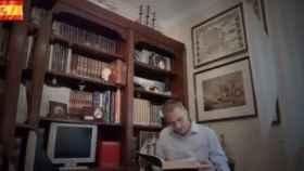 Ortega Smith en uno de los fotogramas del vídeo.