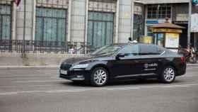 Una VTC de Cabify en Madrid.