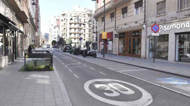 Valladolid Calles Valladolid Coronavirus 007