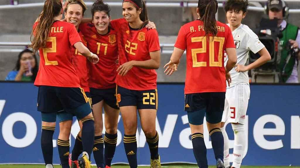 La selección española de fútbol femenino en la SheBelieves Cup 2020