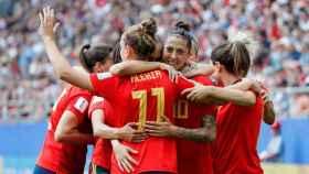 La selección española de fútbol femenino en el Mundial de Francia 2019