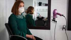Ana Belén Pérez, peluquera de 'Aires de belleza'.