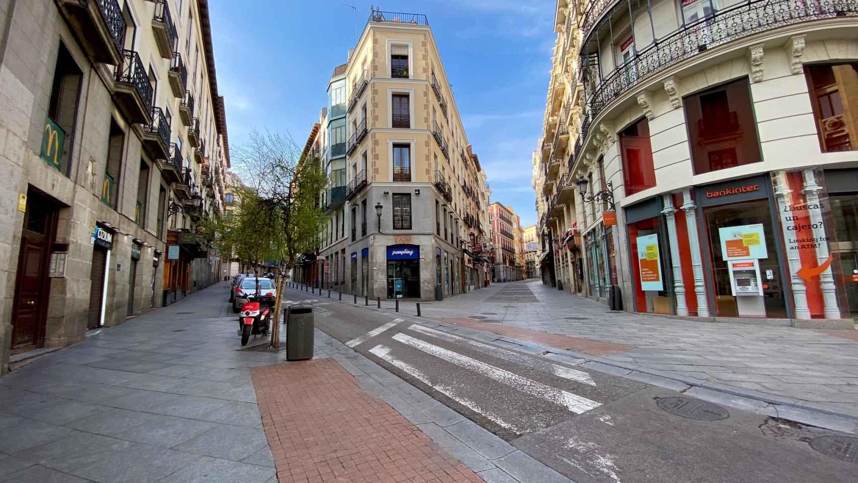 Madrid, desiarta tras el estado de alarma por el coronavirus