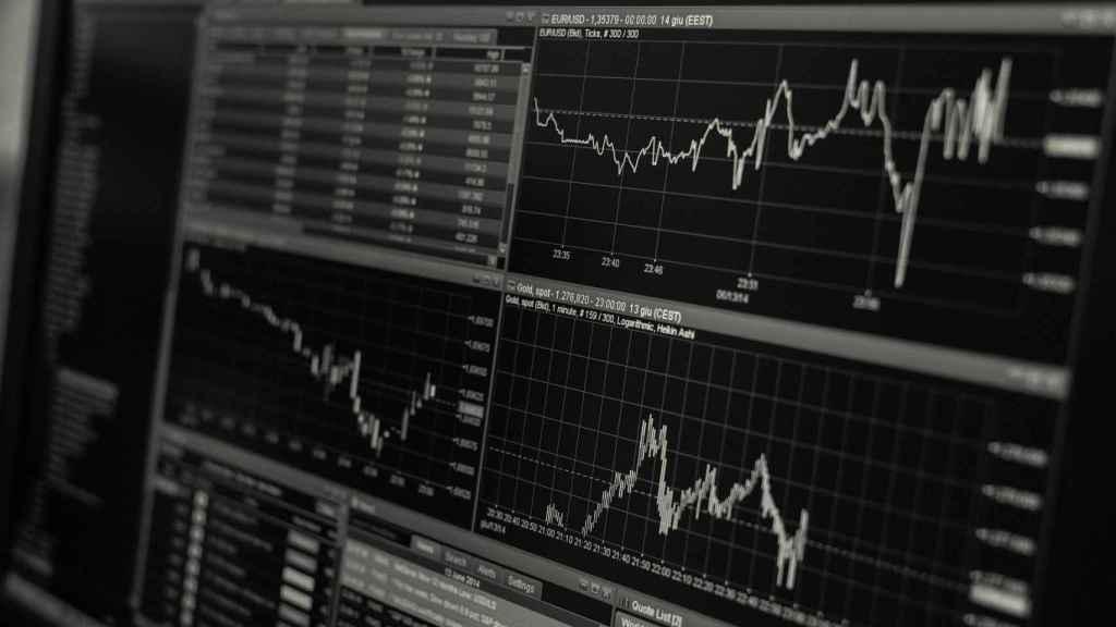Imagen sobre los mercados financieros.